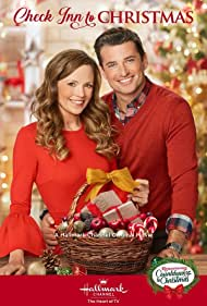 Rachel Boston and Wes Brown in Check Inn to Christmas (2019)
