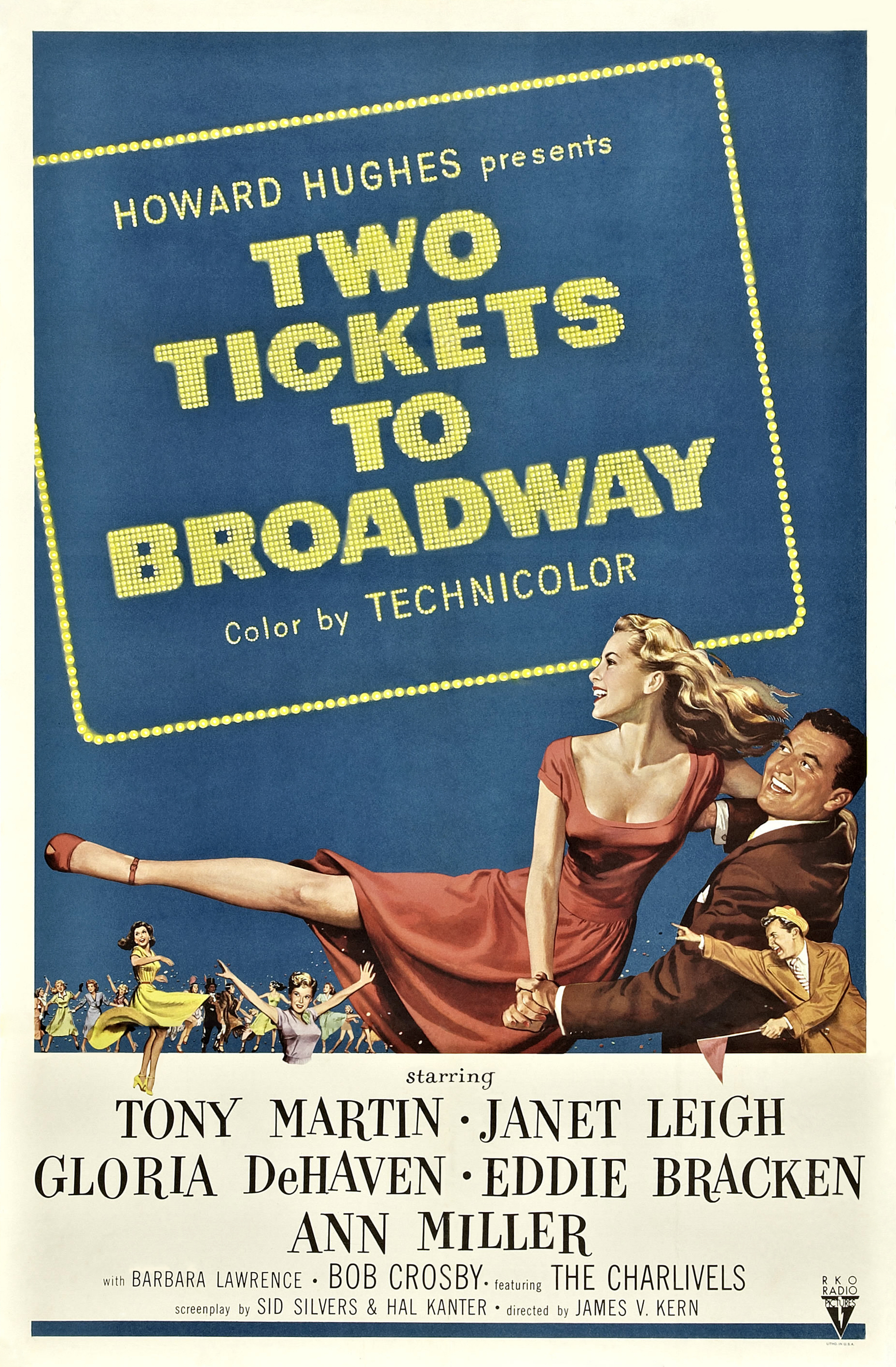 Two Tickets To Broadway 1951