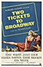 Two Tickets to Broadway (1951) Poster