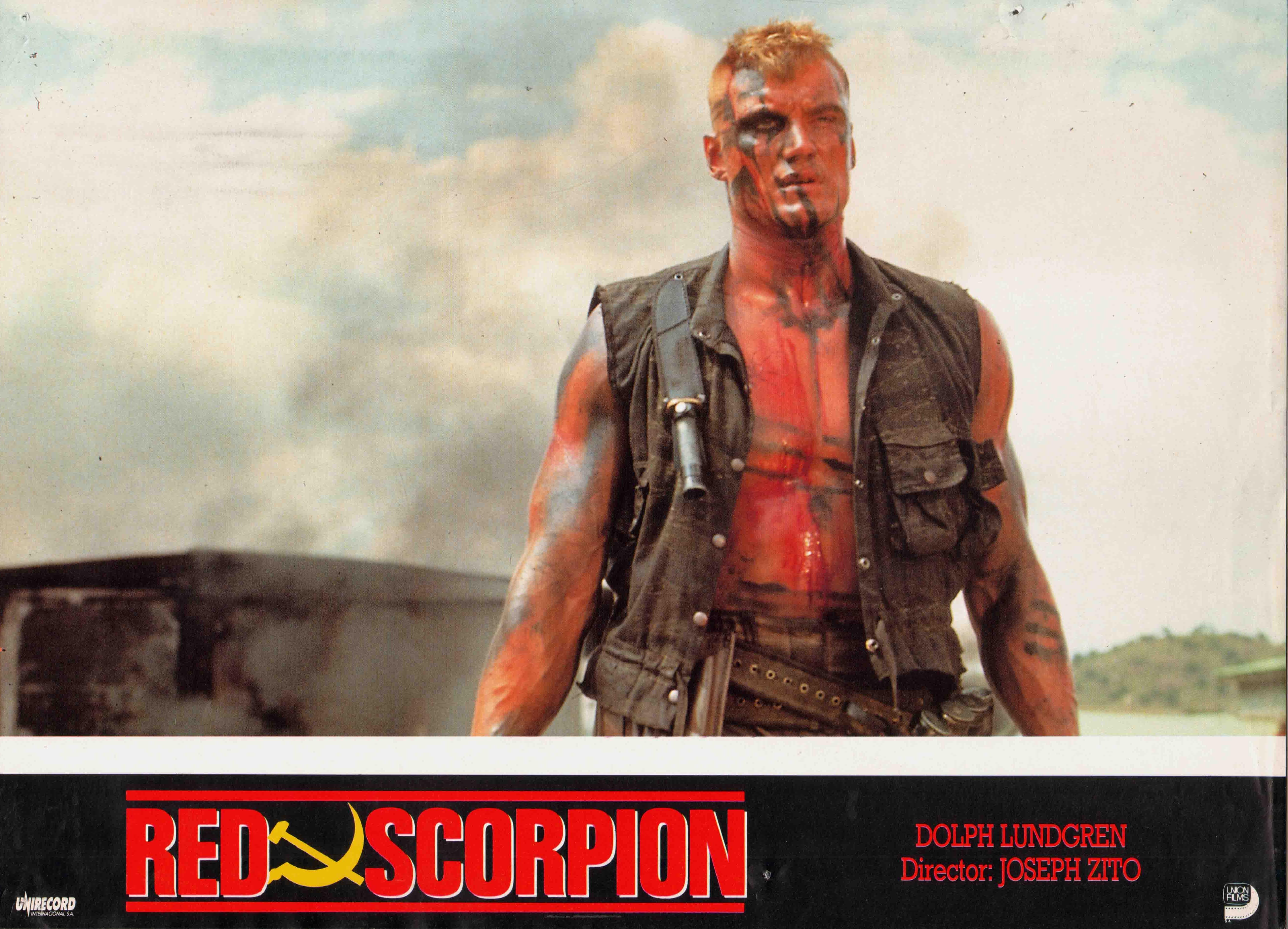 LUNDGREN FILME RED BAIXAR DOLPH SCORPION