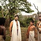 Mammootty and Unni Mukundan in Mamangam (2019)