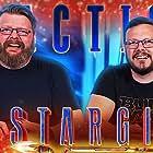 Eric Whiteley and Aaron Elliott in Blind Wave: Stargirl Reaction (2020)