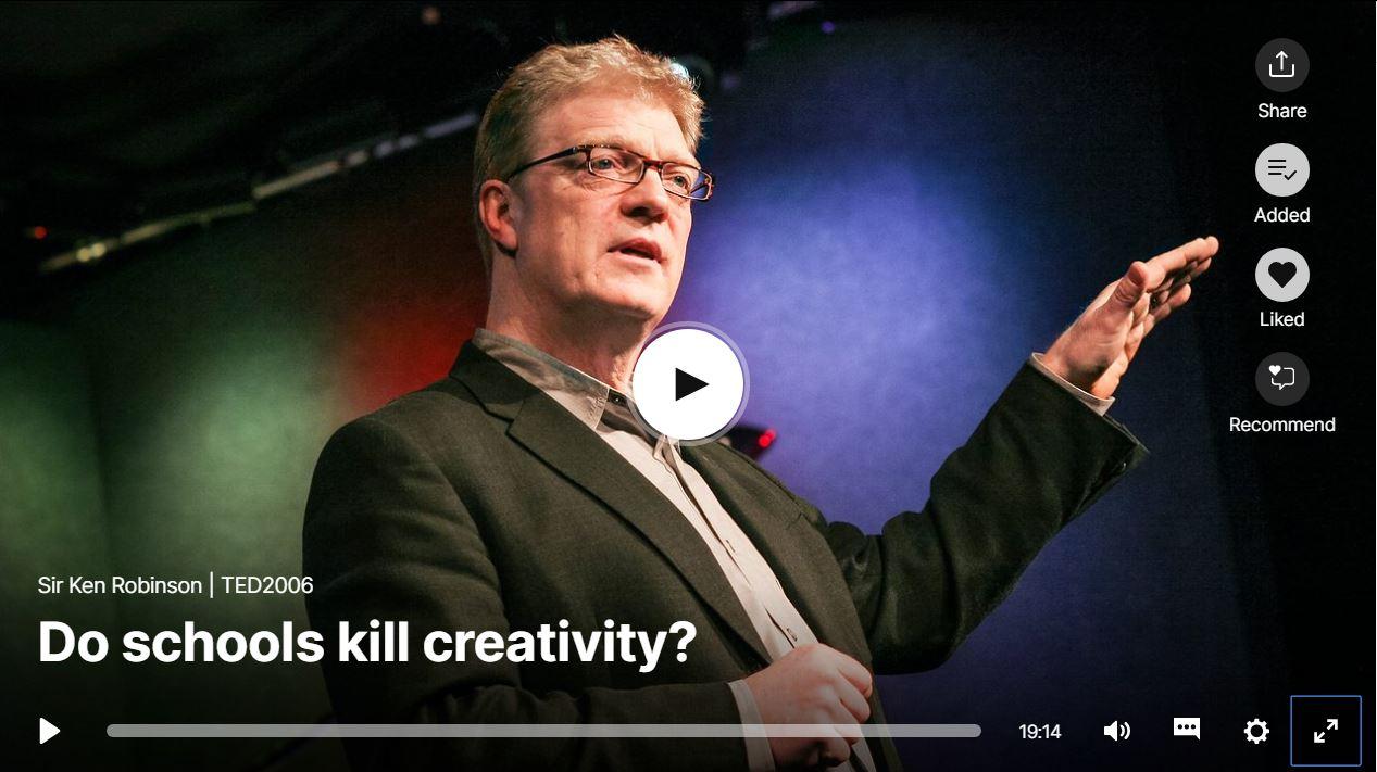 Ken Robinson in TEDTalks (2006)