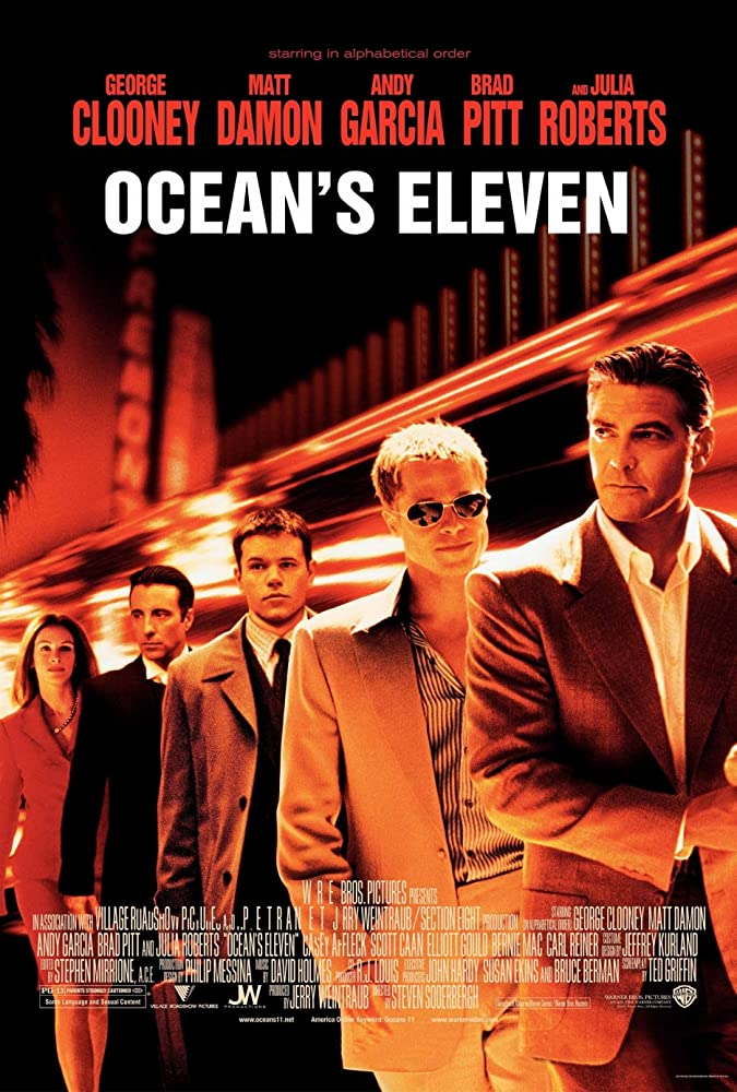 Ocean's Eleven 2001 Hindi Dual Audio 440MB BluRay ESub Download