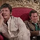 Charles Bronson and Tony Curtis in You Can't Win 'Em All (1970)