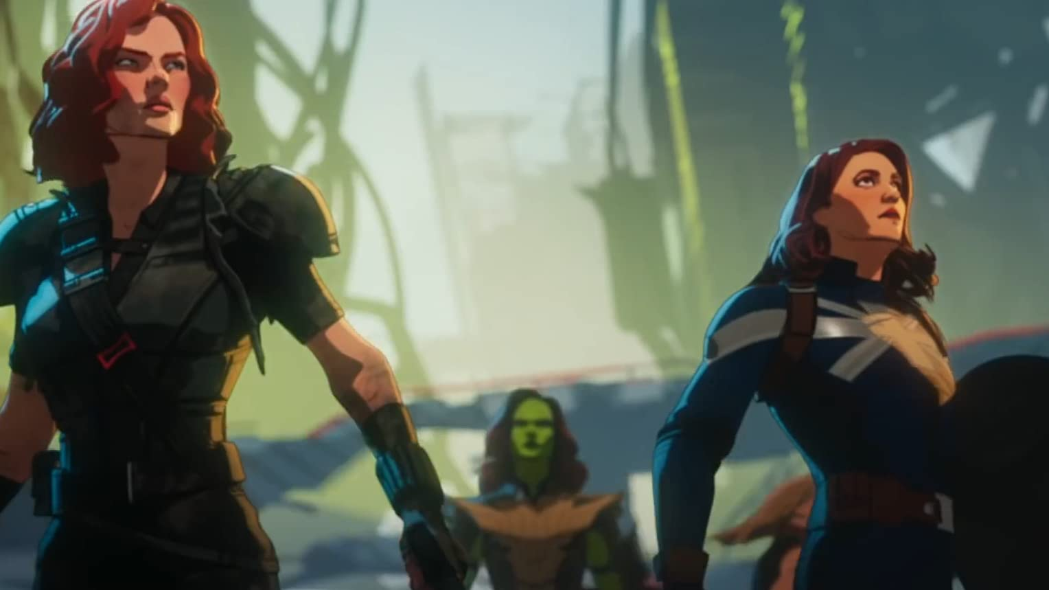 What If...? Black Widow, Captain Carter, and Gamora