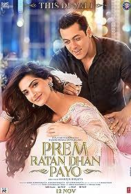 Salman Khan and Sonam Kapoor in Prem Ratan Dhan Payo (2015)