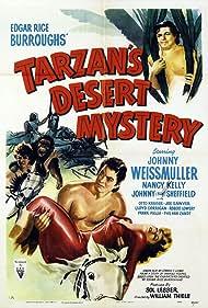 Nancy Kelly and Johnny Weissmuller in Tarzan's Desert Mystery (1943)