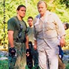 Rutger Hauer and Sergio Kato in Flying Virus (2001)