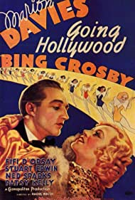 Bing Crosby and Marion Davies in Going Hollywood (1933)