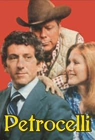 Susan Howard, Barry Newman, and Albert Salmi in Petrocelli (1974)