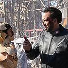 Nicolas Cage and Sofia Boutella in Prisoners of the Ghostland (2021)