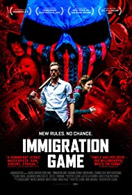 Mathis Landwehr and Denise Owono in Immigration Game (2017)