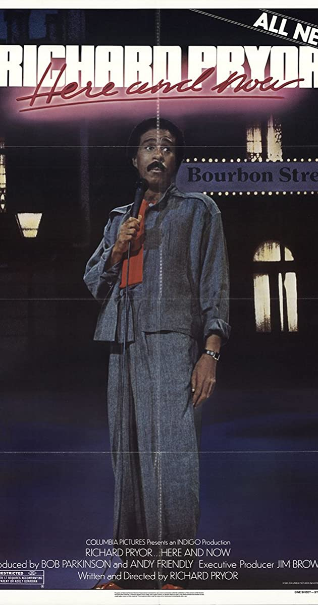 Subtitle of Richard Pryor... Here and Now