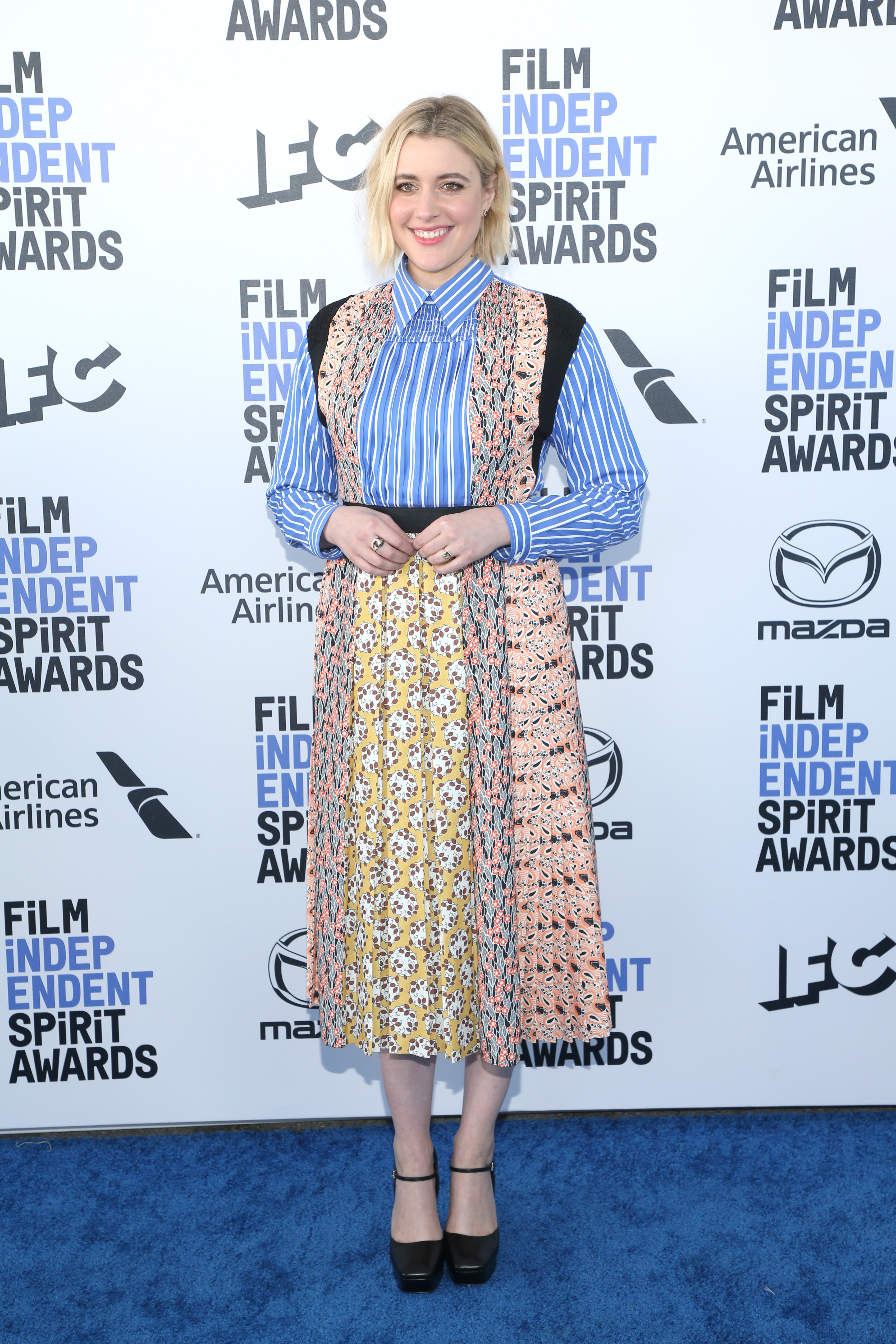 Greta Gerwig at an event for 35th Film Independent Spirit Awards (2020)
