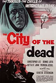 Christopher Lee in The City of the Dead (1960)