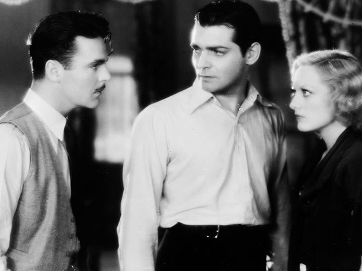 Clark Gable, Joan Crawford, and Neil Hamilton in Laughing Sinners (1931)