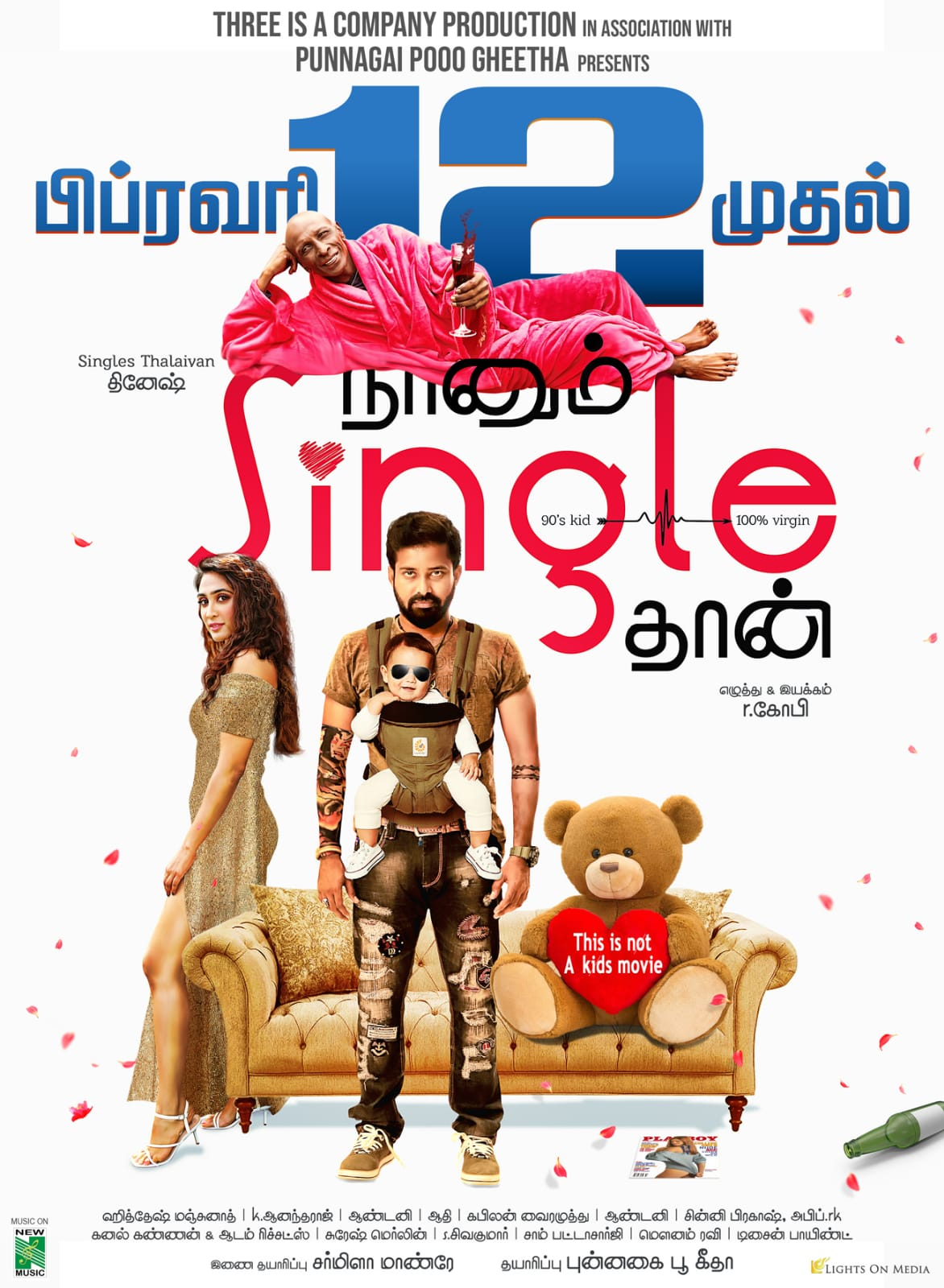 Naanum Single Thaan 2021 Tamil 720p HDRip 1.2GB ESub Download