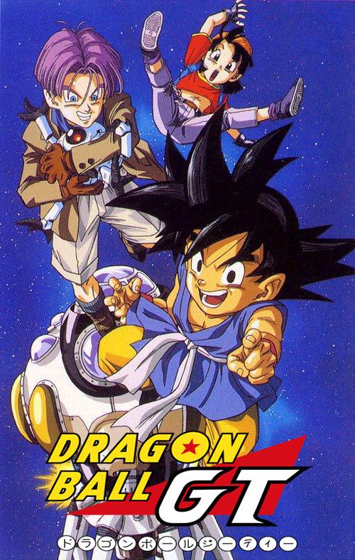 Desenho Dragon Ball GT - Completos - Completo Download