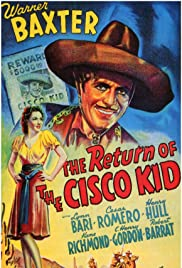 The Return of the Cisco Kid Poster