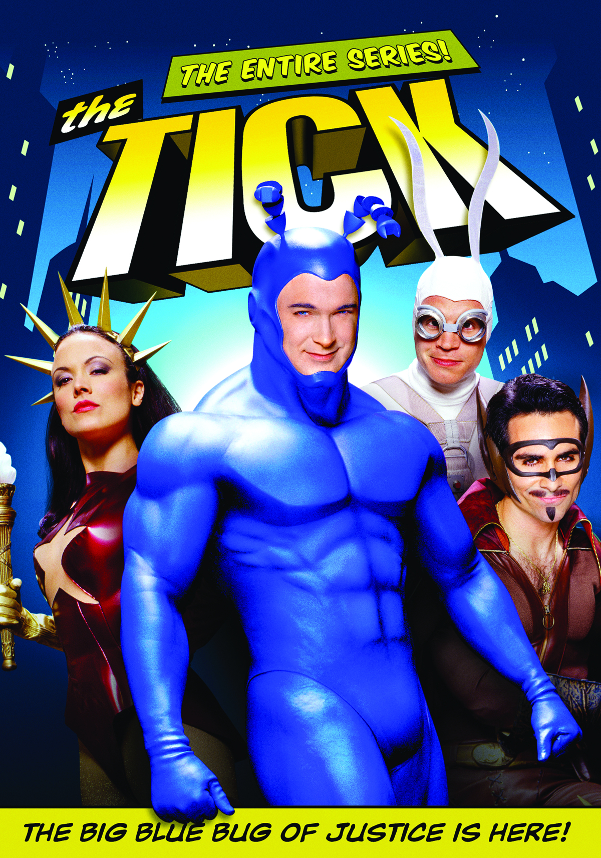 The Tick Tv Series 2001 2002 Imdb