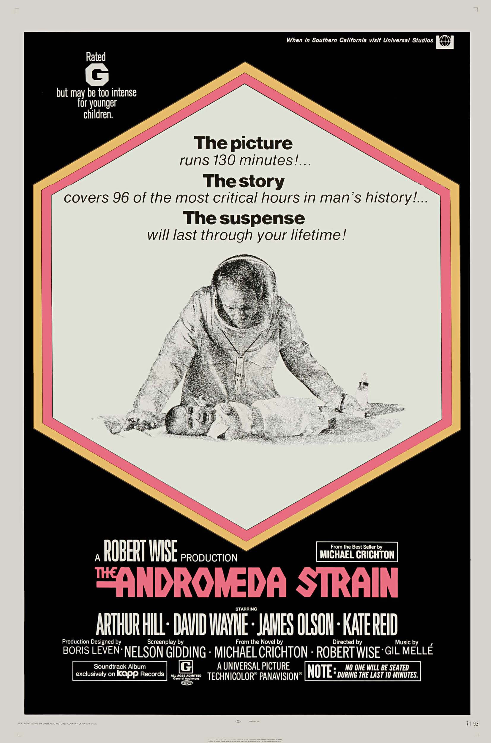 ANDROMEDOS ŠTAMAS / THE ANDROMEDA STRAIN