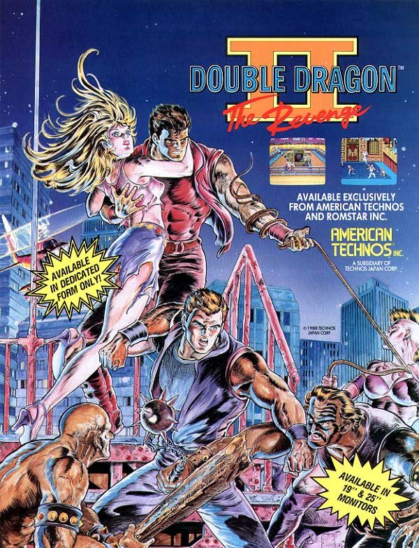Double Dragon Ii The Revenge Video Game 1988 Imdb