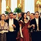 Sam Neill, Charlotte Rampling, Romola Garai, and Michael Fassbender in Angel (2007)