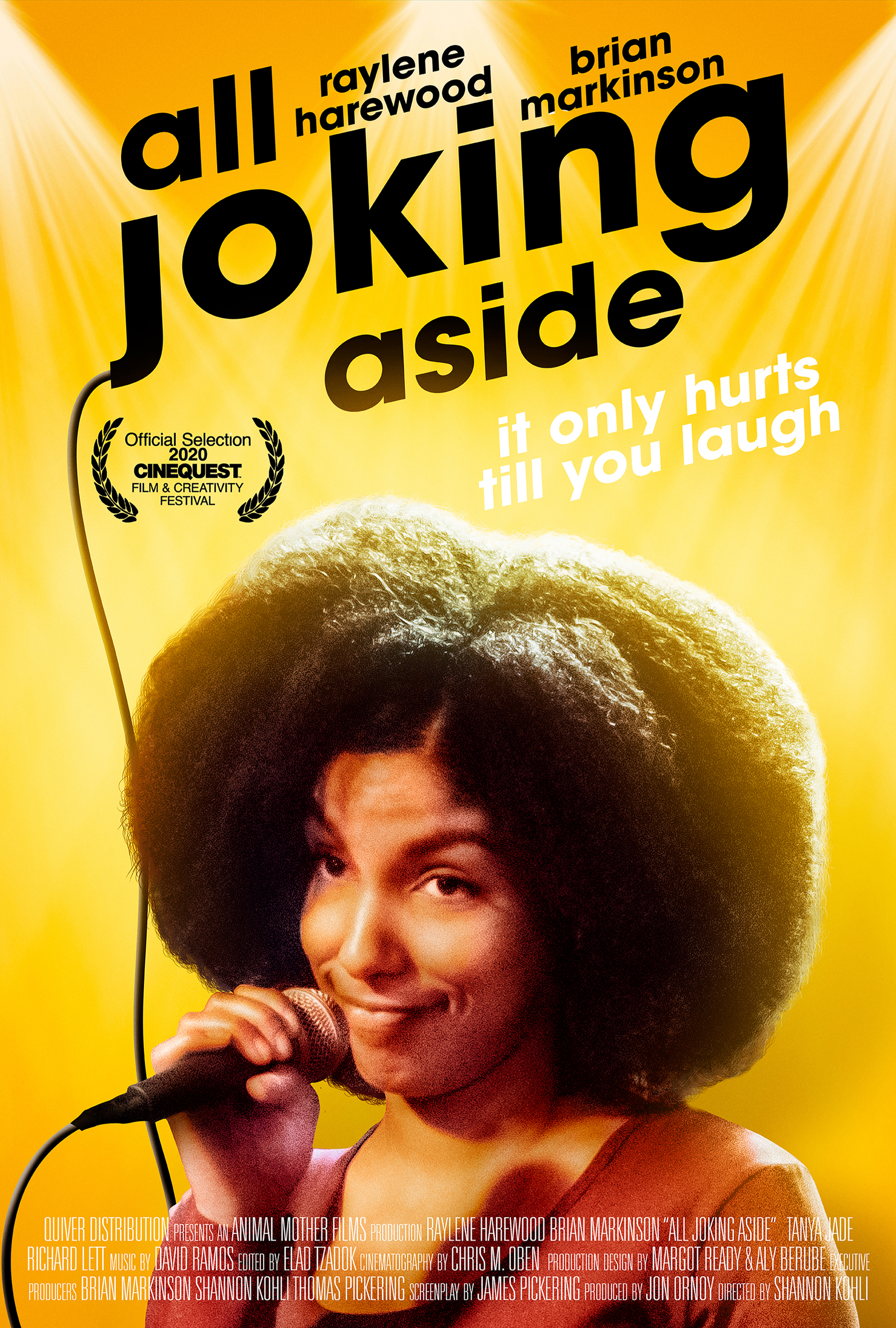 All Joking Aside 2020 English 268MB HDRip Download