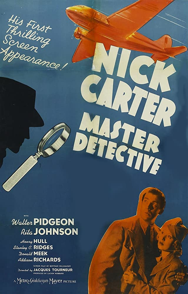 Rita Johnson and Walter Pidgeon in Nick Carter, Master Detective (1939)