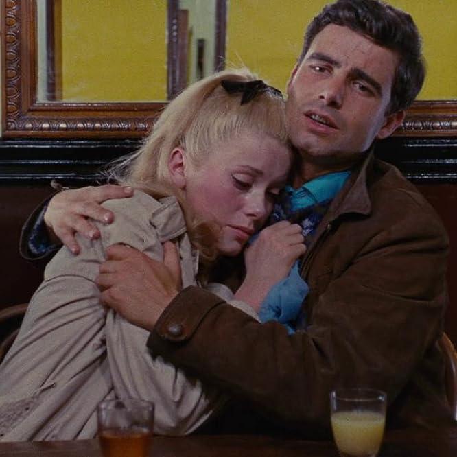Catherine Deneuve and Nino Castelnuovo in The Umbrellas of Cherbourg (1964)