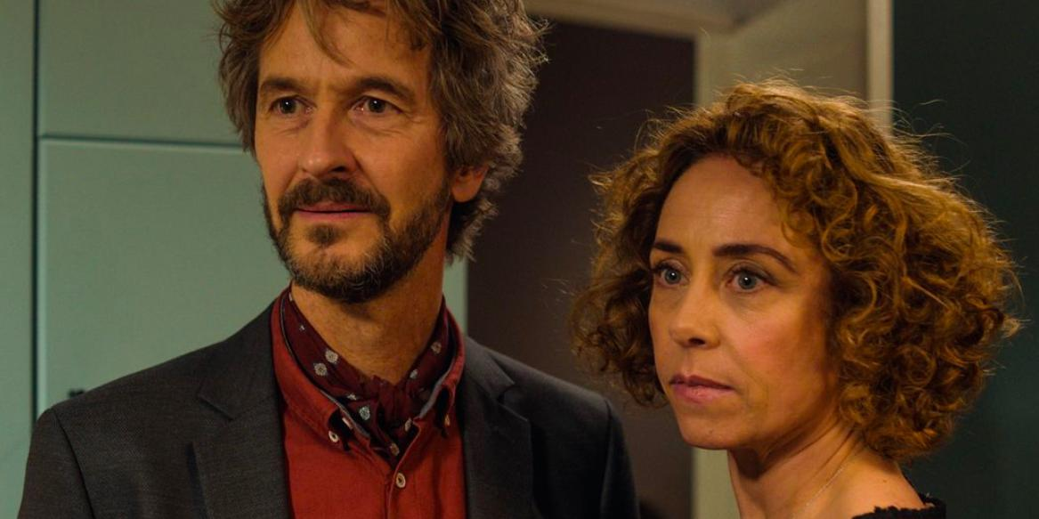 Lars Brygmann and Sofie Gråbøl in Den tid på året (2018)