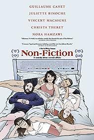 Juliette Binoche, Guillaume Canet, Vincent Macaigne, and Christa Théret in Doubles vies (2018)