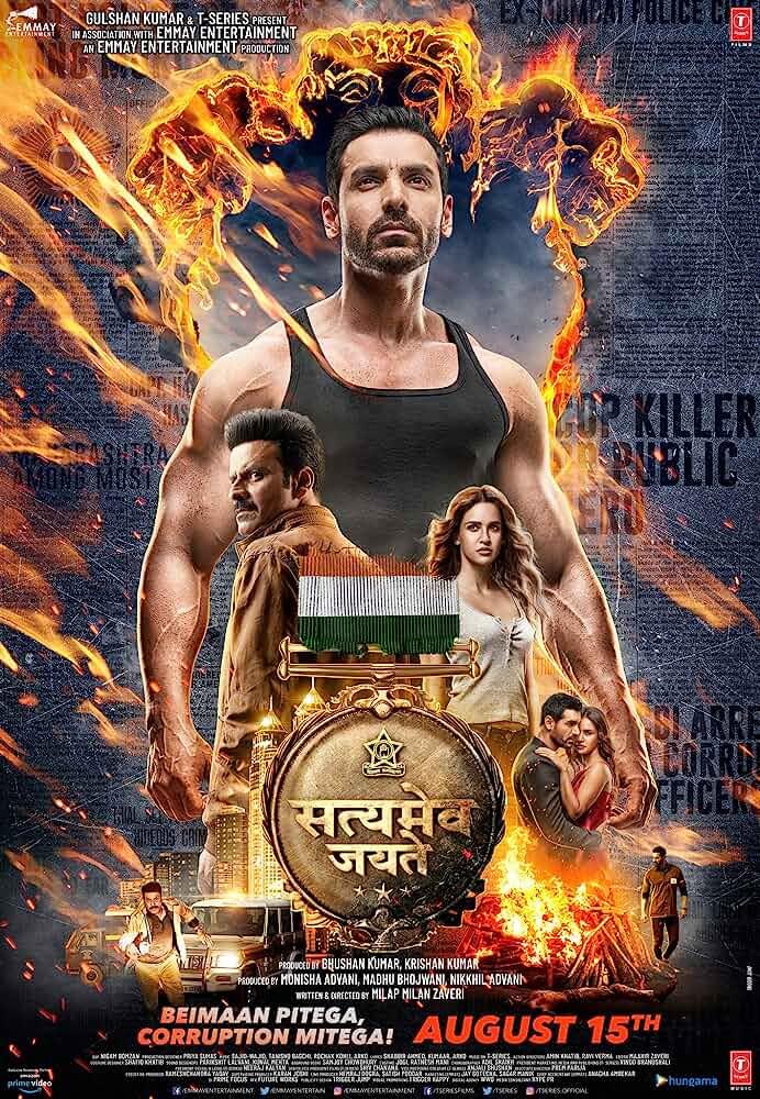 Satyameva Jayate (2018) Hindi Full Movie HDRip 700MB