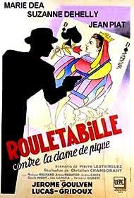 Marie Déa in Rouletabille contre la dame de pique (1948)