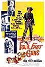 Four Fast Guns (1960) Poster