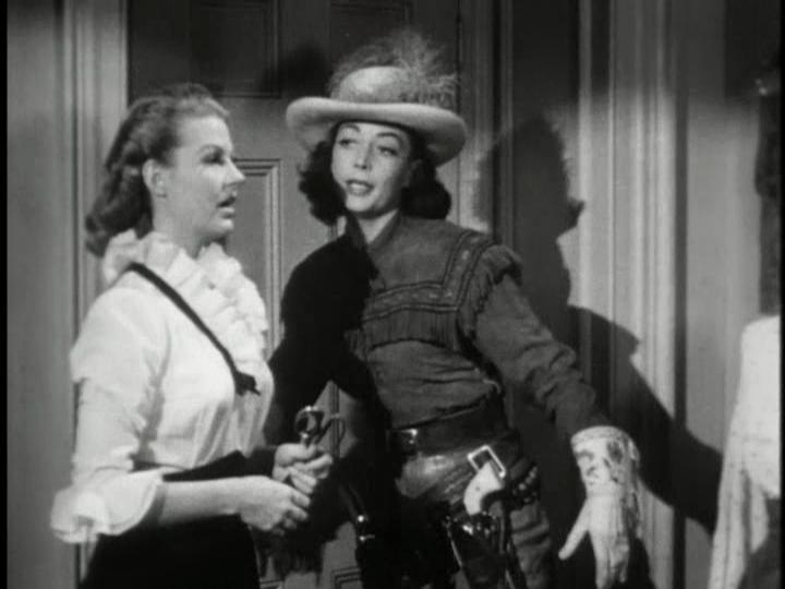 Mary Castle and Marie Windsor in Stories of the Century (1954)