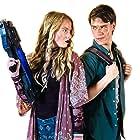 Brandon Johnston and Betsy McKinley in Alien Siege