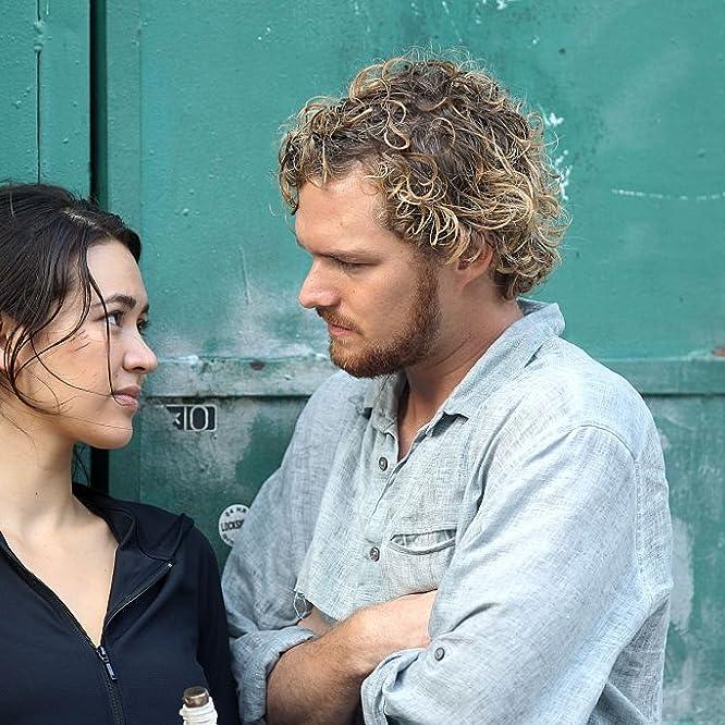 Finn Jones and Jessica Henwick in Iron Fist (2017)
