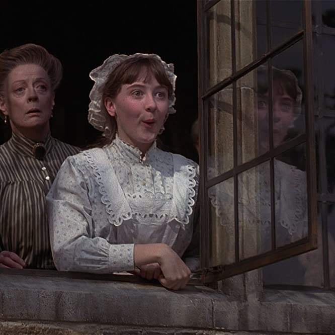Maggie Smith and Laura Crossley in The Secret Garden (1993)