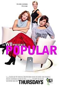 Leslie Bibb, Carly Pope, and Sara Rue in Popular (1999)