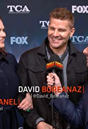 Dishing with David Boreanaz and Emily Deschanel from Bones Poster