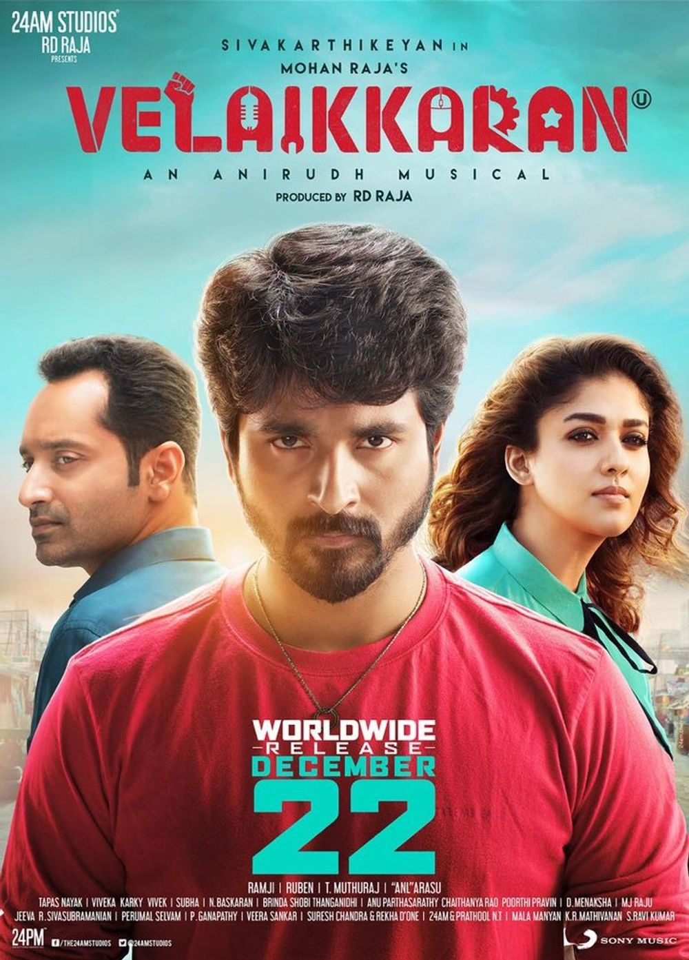 Jaago (Velaikkaran) 2017 Hindi Dual Audio 720p UNCUT HDRip ESubs 1.7GB Download