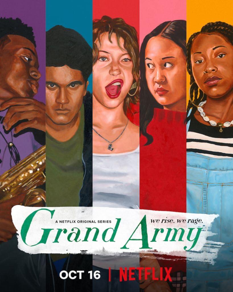 Grand Army (2020) NF WEB-DL Dual Audio [Hindi – English] x264 AAC