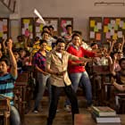 Ankush Chaudhari, Sai Tamhankar, and Siddharth Chandekar in Classmates (2015)