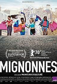 Fathia Youssouf, Médina El Aidi-Azouni, Esther Gohourou, and Ilanah Cami-Goursolas in Mignonnes (2020)