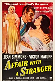 Affair with a Stranger Poster