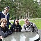 Breann Grainger, Joey Coleman, Brian Cyburt, Enrique Garcia, and Jarod Brophy in Starving Student (2015)