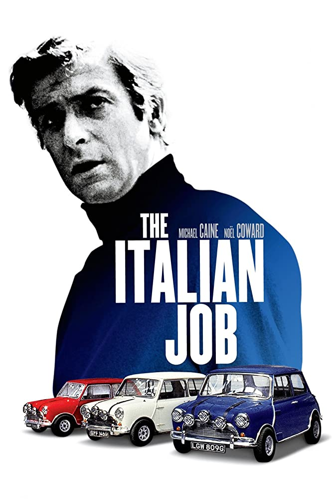 Michael Caine in The Italian Job (1969)