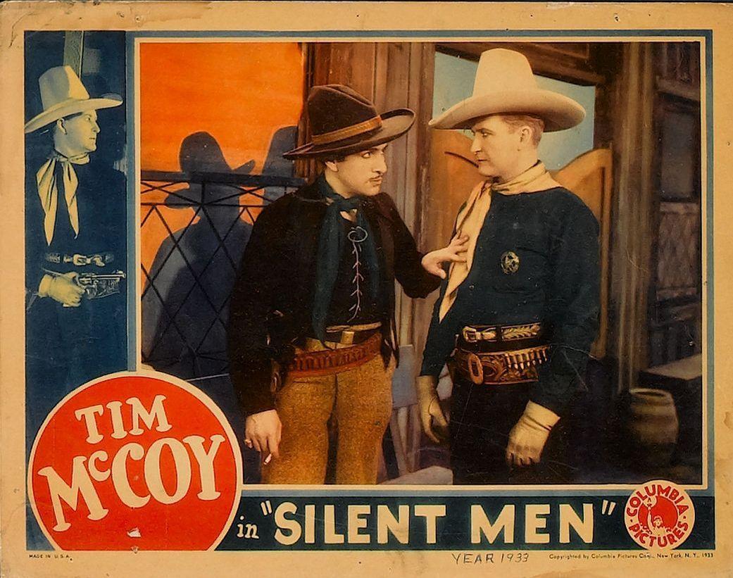 Tim McCoy and J. Carrol Naish in Silent Men (1933)